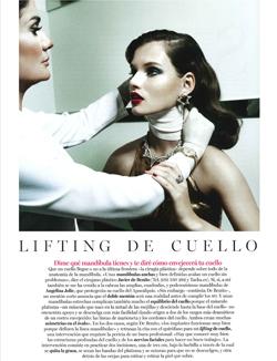 Vogue Noviembre - Lifting de cuello